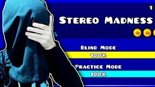"Geometry Dash - Stereo Madness ""Blind Mode"" (Sin ver) 