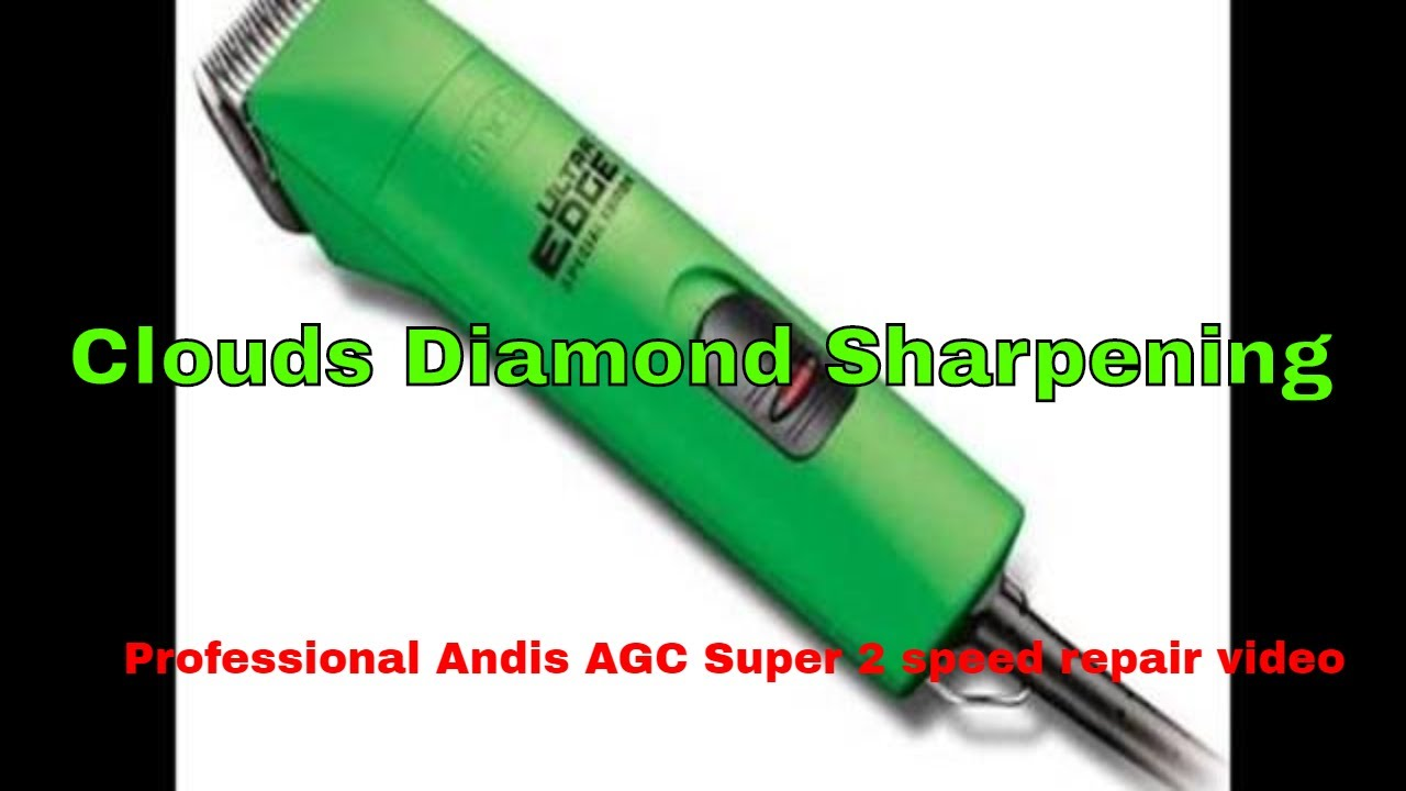 small resolution of andis agc super 2 speed clipper repair