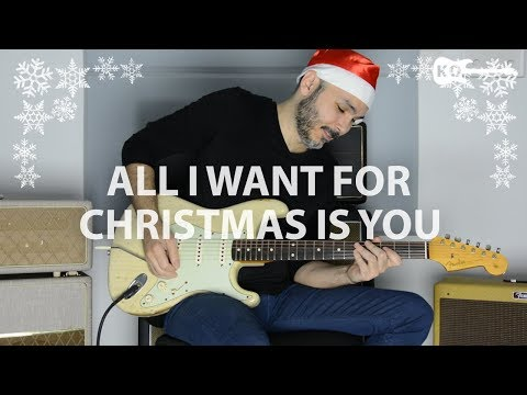 Mariah Carey - All I Want For Christmas Is You - Electric Guitar Cover by Kfir Ochaion