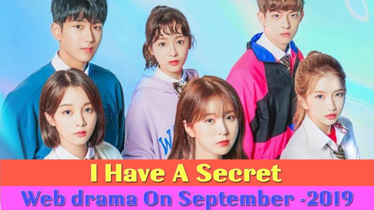 "I Have a Secret"" Upcoming Web drama on September - 2019 - YouTube"