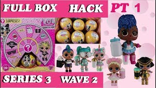 INDEPENDENT QUEEN LOL SURPRISE CONFETTI POP WAVE 2 SERIES 3 GOLD BALL PLACEMENT HACK PART 1