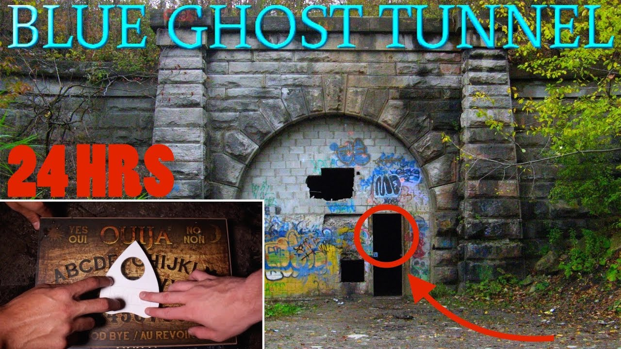 (GONE WRONG) OUIJA BOARD // SNEAKING INTO THE WORLDS MOST HAUNTED TUNNEL (BLUE GHOST TUNNEL)