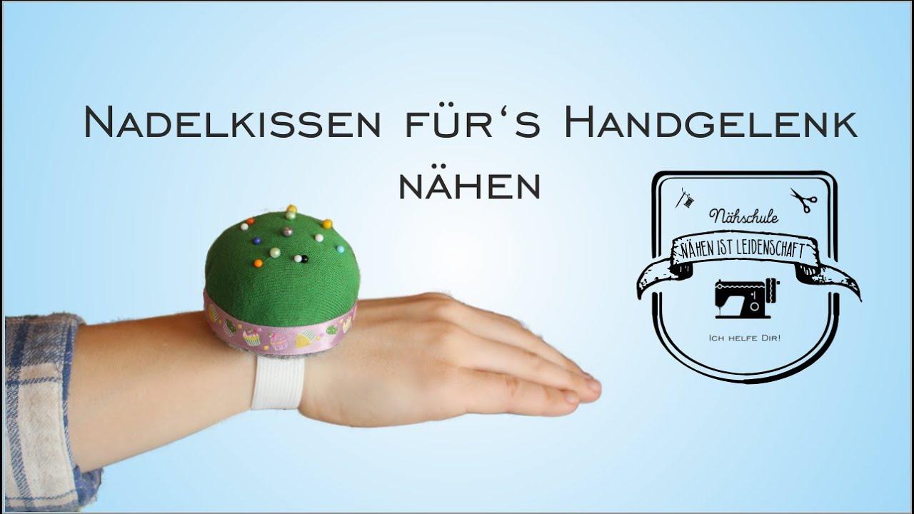 DiY Nadelkissen für\'s Handgelenk - YouTube