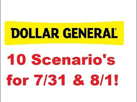 10 Scenario's for Dollar General