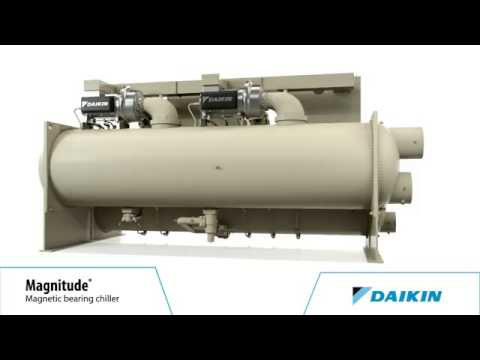 Daikin Magnitude® Magnetic Bearing Centrifugal Chillers