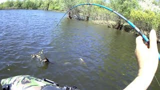 Рыбалка спиннинг,джиг,троллинг с лодки - это лучший способ уборки акватории от старых сетей