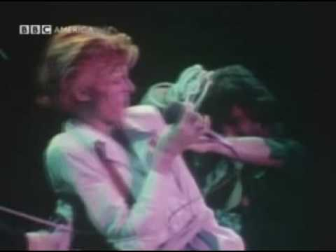 David Bowie - BBC Live - Diamond Dogs & John, I'm Only Dancing (January 1975)