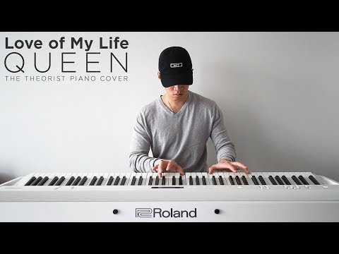 Queen - Love of My Life  The Theorist Piano Cover