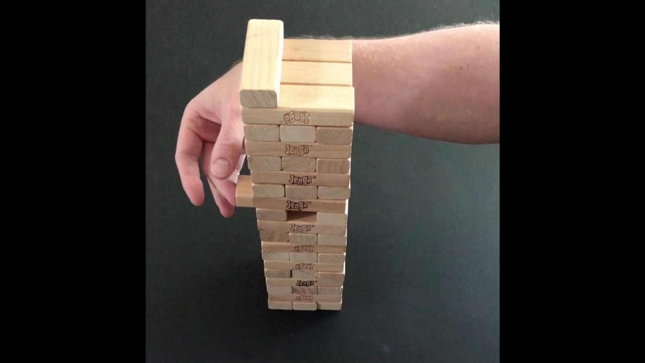 Jenga Spiel