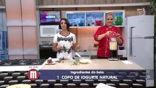 Mulheres - Bolo Rápido de Iogurte com Limão (06/08/15)
