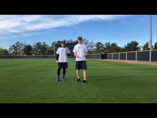 Outfield Ground Ball Progression Drill