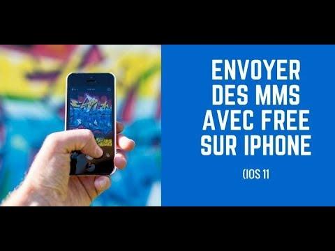 Configurer Les Mms Free Sur Iphone Youtube