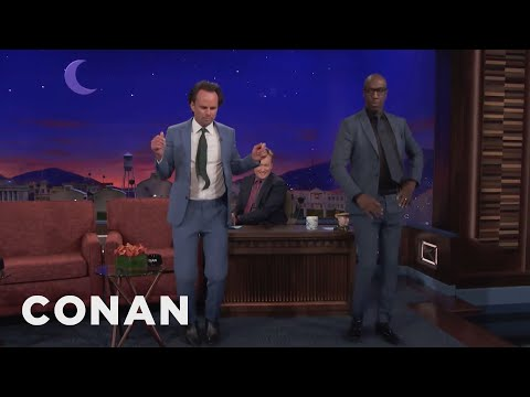 Walton Goggins Clogged At B.B. King Concerts   CONAN on TBS