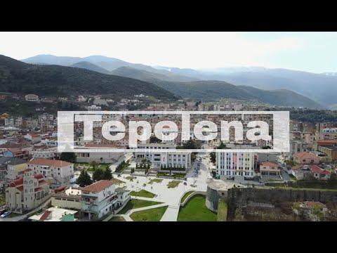 Drone Albania Tepelena Castle