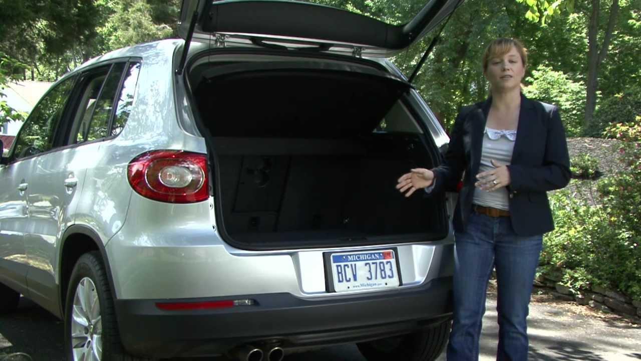 2010 Volkswagen Tiguan Cargo Capabilities Youtube