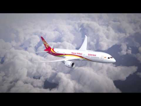 Upgraded Boeing 787-9 Features of Hainan Airlines
