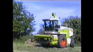 Mick McCarthy's Claas 880 at Silage in Cork 2001