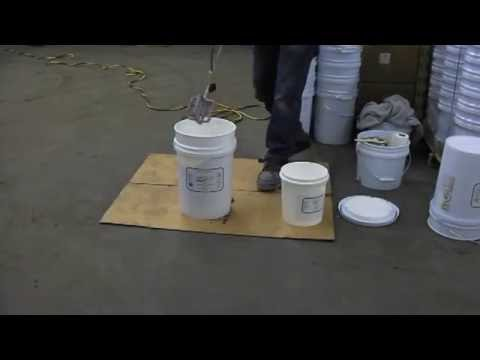 Application of EPOX Z with Squeegee and Roller