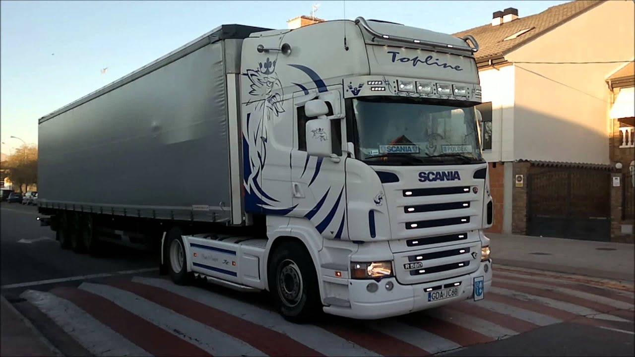 Scania R560 V8 Sound - YouTube