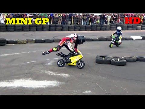 LUCU UNIK & SERU Kelas Mini GP FINAL Road Race Karawang Seri 3 Terbaru