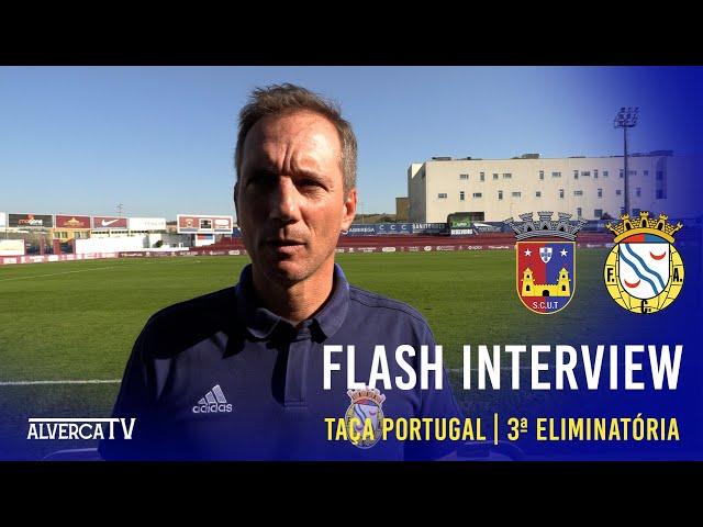 Torreense 2-0 FC Alverca Flash Interview