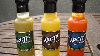 Arctic Chilli New Range Triple Sauce Test