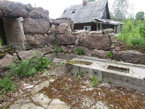 Нашёл старую телегу у заброшенного дома. А также другие интересные находки.
