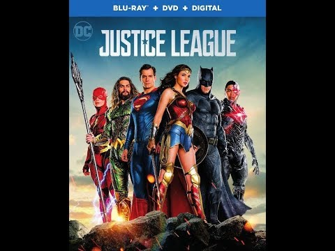 Justice League  Bluray Unboxing