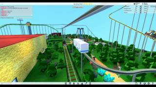 ROBLOX THEME PARK TYCOON 2 MONORAIL TOUR AND RIDE
