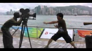 Video Jimmy Chan Kung Fu Fighting in Hong Kong download MP3, 3GP, MP4, WEBM, AVI, FLV Januari 2018