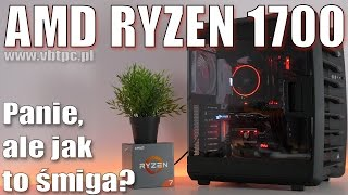AMD Ryzen 1700  - TEST vs i7 - gry - programy oraz Windows 7 vs Windows 10 - czy warto? VBT PC
