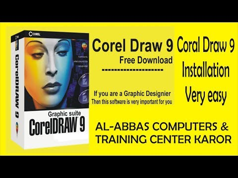 How to Download and install Coral Draw 9 with Serial key
