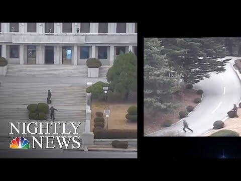 North Korean Soldier Makes Desperate Escape In Border Chase | NBC Nightly News