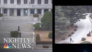 North Korean Soldier Makes Desperate Escape In Border Chase   NBC Nightly News