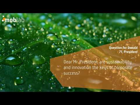 MobLab - refreshing ideas. - Sustainability