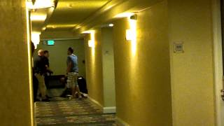 fight in hotel hallway of crowne plaza in alberquerque part 2 of 5