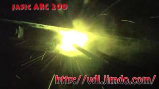jasic arc 200 електроди УОНІІ 4мм (Патон)