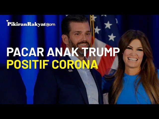 Pacar Anak Donald Trump Positif Corona saat akan Temani Calon Mertua Kampanye Pemilihan Presiden AS