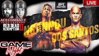 🔴ufc Minneapolis Ngannou Vs Dos Santos Fight Week  Game Night