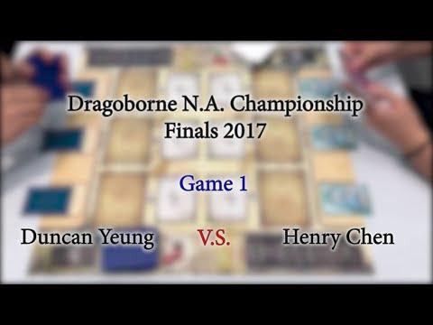 Dragoborne Championship 2017 North America Regional Finals Part 1