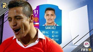 FIFA18 | THE BEST FUT SWAP PLAYER?!?! | 91 RATED FUT SWAP DEAL SANCHEZ PLAYER REVIEW!! | FUT18