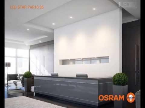 osram led star par16 35 youtube. Black Bedroom Furniture Sets. Home Design Ideas
