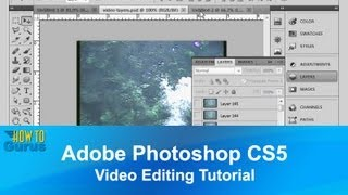 Adobe Photoshop CS5 Video Editing Tutorial - How to Import and Work with Video in Photoshop(Adobe Photoshop CS5 Video Editing Tutorial. How to import and work with Video. Download Project Files http://www.georgepeirson.com/quci ▻ Be a ..., 2013-06-12T05:23:28.000Z)