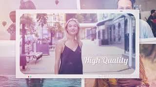 Traveller Premeire Pro 12 | travel memories | Magic ae templates