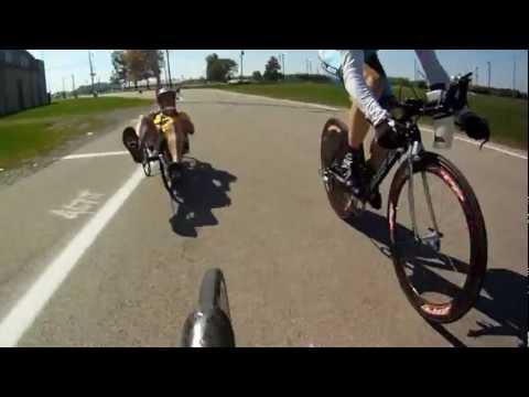 One Hour Recumbent Bike Race