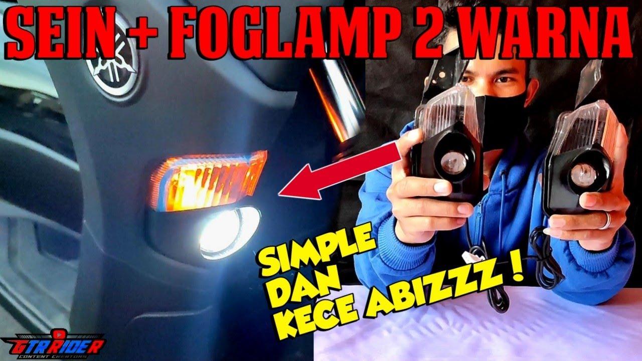 Sein Foglamp Nmax 2020 - Lampu tembak paling terang di kelasnya!