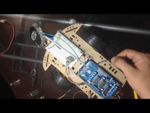 Robot detecta  Objetos y toma decisiones