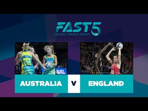 Australia v England | Fast5 World Series 2017