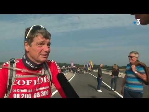 Castries : une nouvelle route sans piste cyclable inaugurée à vélo...