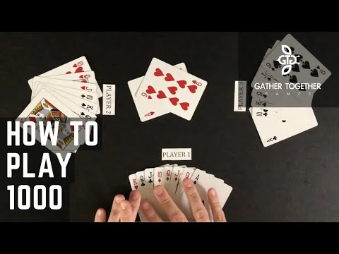 How To Play 1000